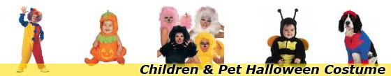 Children and Pet Halloween Costumes