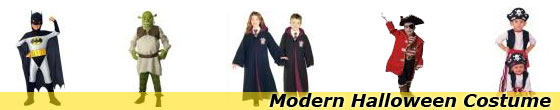 Modern Halloween Costumes