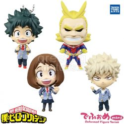 Gashapon My Hero Academia Deformed Mini Figure