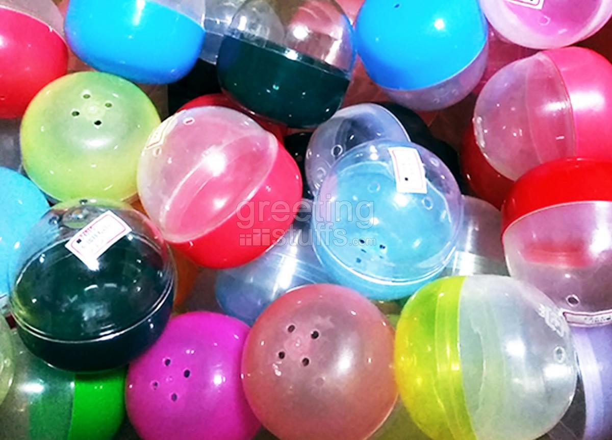 empty gashapon capsules
